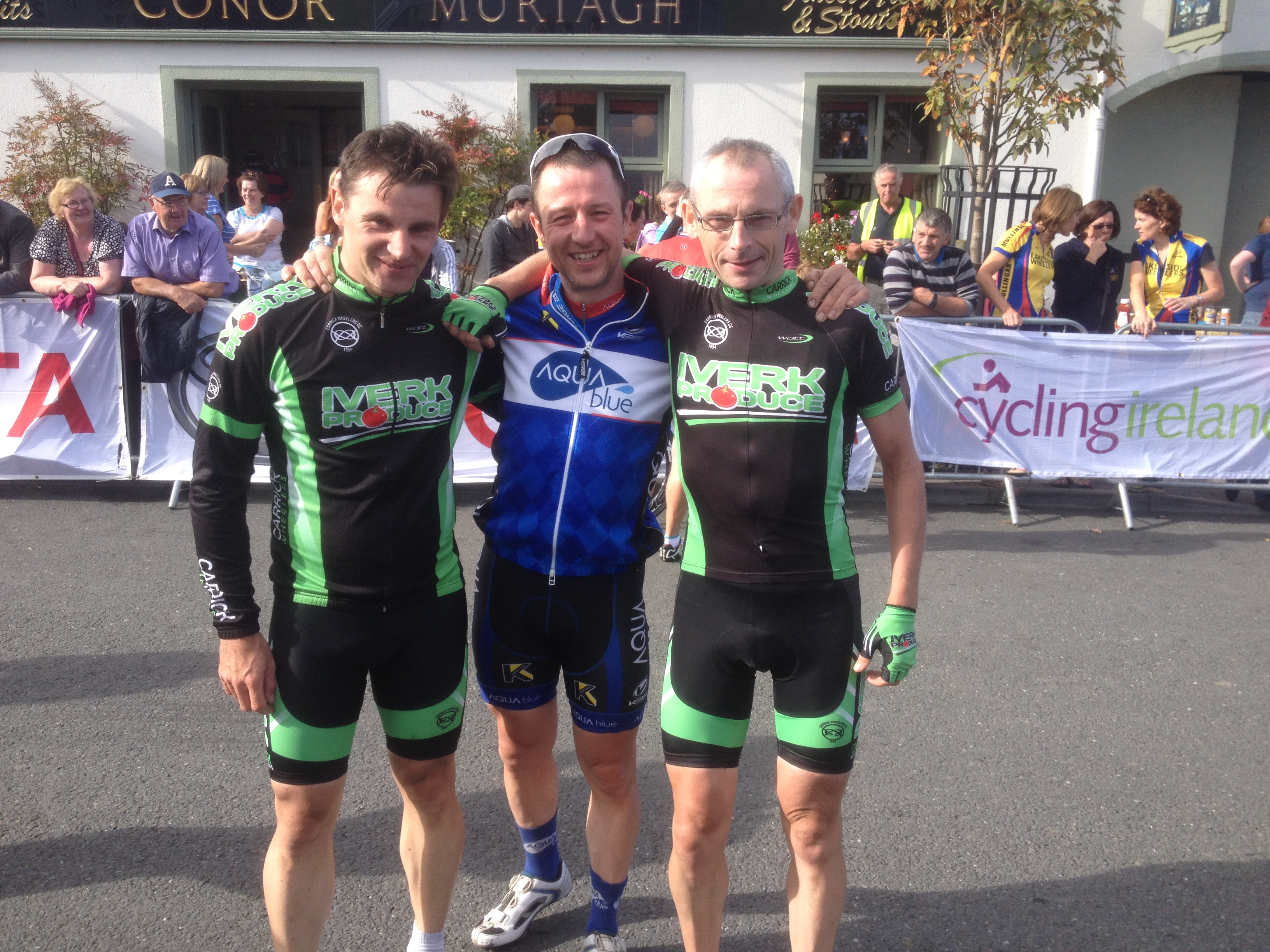 Gold, Silver and Bronze Medals for Carrick Wheelers