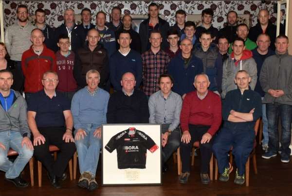 Members of Carrick WC.C. pictured at the recent A.G.M. in O' Ceallaghans, Carrick on Suir.